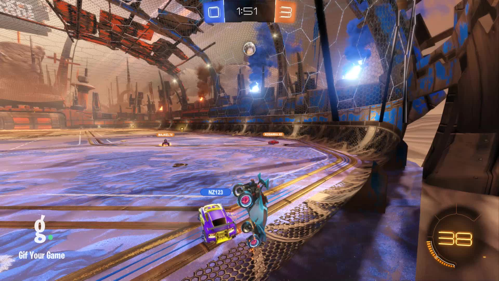 Gif Your Game, GifYourGame, Goal, Rocket League, RocketLeague, Timper [NL], Goal 4: Timper [NL] GIFs