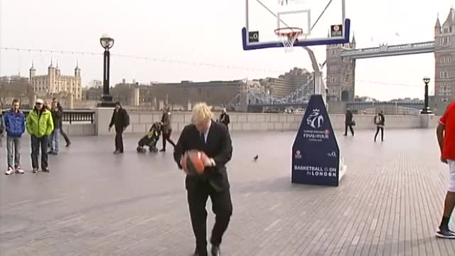Watch and share Boris Basketball GIFs and Boris Trick Shot GIFs by toastpaint on Gfycat