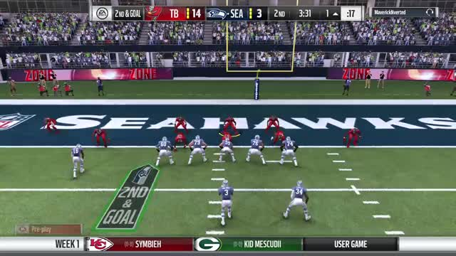 Watch and share Not A Big Deal Playing Madden NFL 17 GIFs on Gfycat