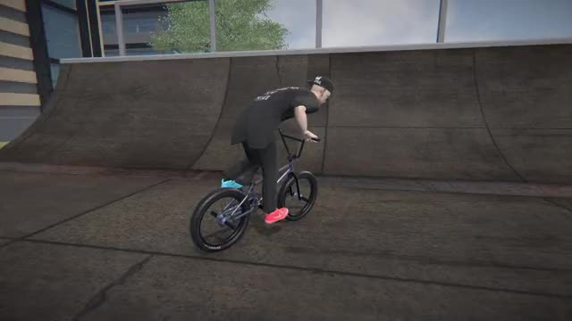 Watch and share Straight Double Bar GIFs and Bmx Streets GIFs by Nocturnal on Gfycat