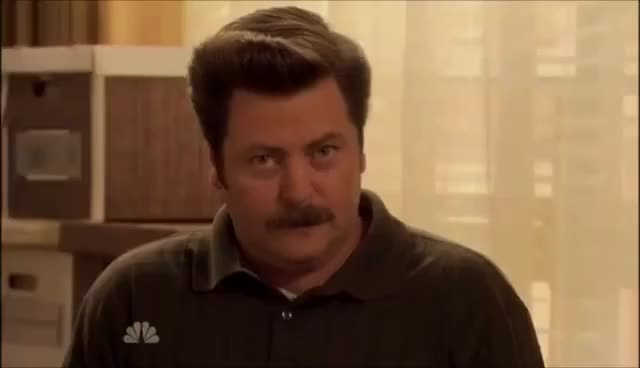 Watch and share Ron Swanson GIFs on Gfycat
