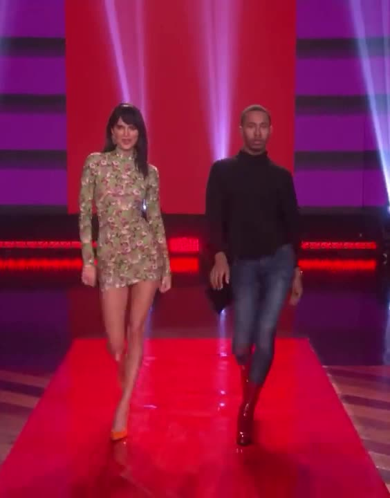 an, carpet, catwalk, confident, degeneres, ellen, entrance, fashion, hot, jenner, kalen, kendall, make, model, modelling, new, red, week, york, Kalen Dishes All About Walking in New York Fashion Week! GIFs