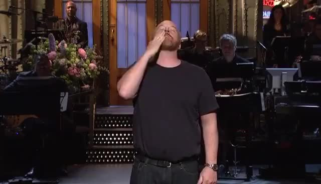 Watch Louis C.K. Monologue - SNL GIF on Gfycat. Discover more related GIFs on Gfycat