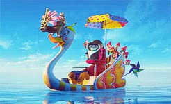 Watch this GIF on Gfycat. Discover more King Julien XIII, Madagascar 3, Madagascar 3: Europe's Most Wanted, Maurice, Mort, blutigwurger GIFs on Gfycat