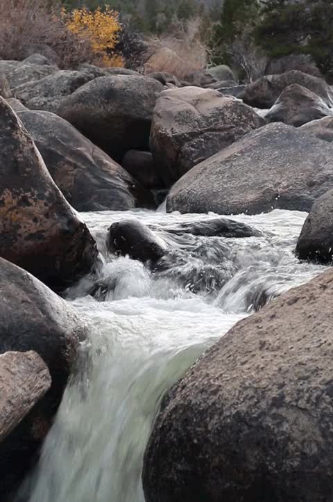 """Watch and share Riverwindphotography: """" Popo Agie River Cascades Above SInks Canyon, WInd River Mountains, Wyoming By Riverwindphotography, October 2016 """" GIFs on Gfycat"""