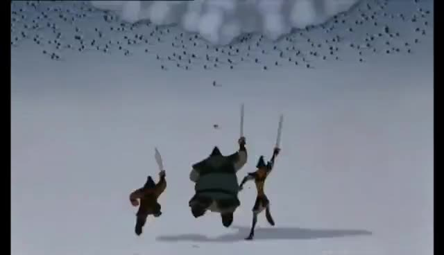 Mulan - The Avalanche - Flemish HD
