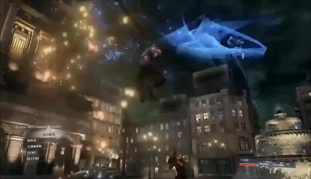 Watch and share Final Fantasy VII REMAKE - PSX 2015 Trailer GIFs on Gfycat