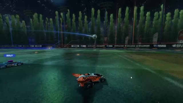 Watch and share RL Air(ish) Dribble | Firmly Grasp It GIFs on Gfycat