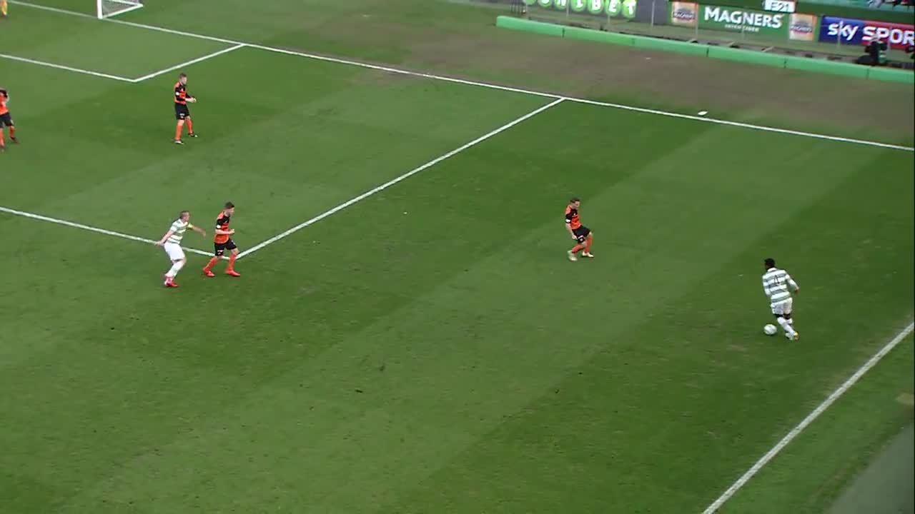 scottishfootball, Gary Mackay-Steven with a wonderful swerving hit for Celtic v former club Dundee United (reddit) GIFs