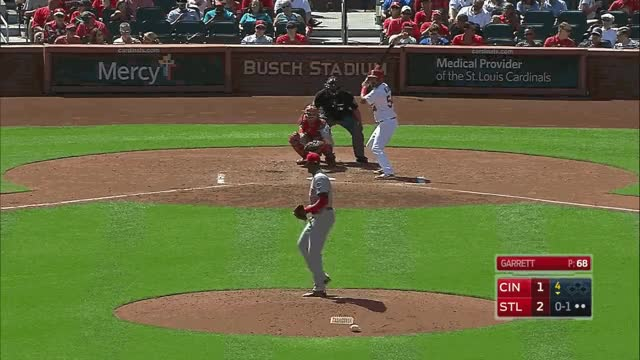 Watch and share Garret Changeup Foul GIFs on Gfycat