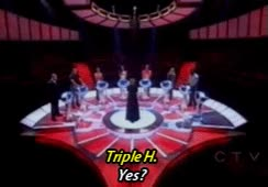 Watch and share *mine Triple H The Weakest Link Stephanie Mcmahon GIFs on Gfycat