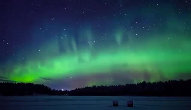 Watch and share Relax Music & Stunning Aurora Borealis - Northern Polar Lights - 2 Hours -  HD 1080P GIFs on Gfycat