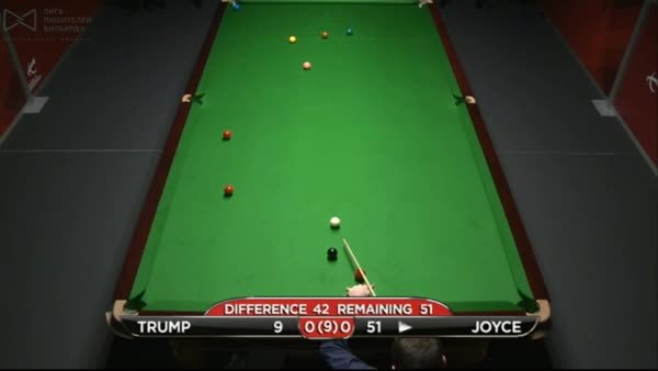 snooker, Mark Joyce with an perfect snooker.....on himself (reddit) GIFs