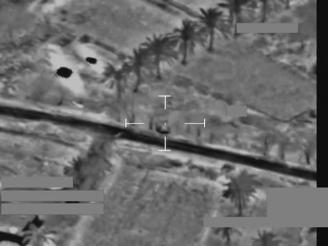 Airstrike, defence, ministry of defence, Paveway missiles destroy Daesh booby-trap GIFs