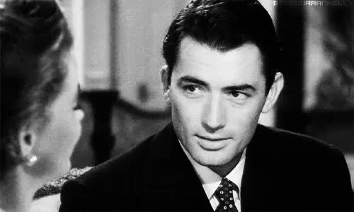Watch and share Old Hollywood GIFs and Gregory Peck GIFs on Gfycat