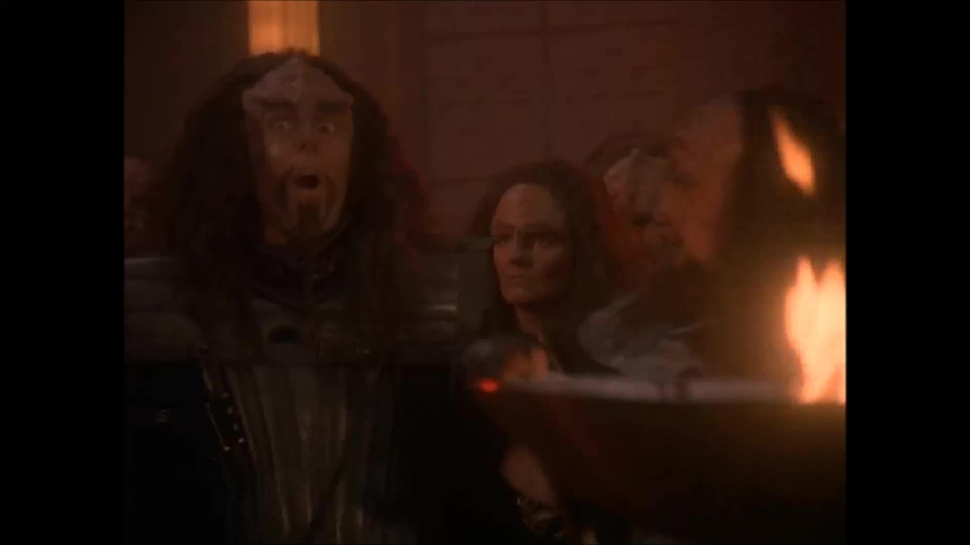 asksciencefiction, movies, startrek, Excited Klingon GIFs