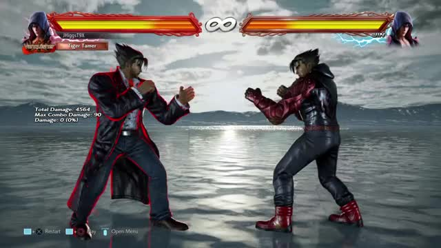 Watch and share Example Of How Jin's R Drive Can Be Used Without Walls (90 Dam From Cd+1) GIFs by jhiggst9x on Gfycat