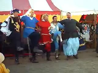 cancan, medieval, sca, silly, Medieval cancan GIFs