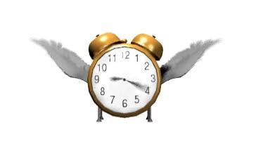 Watch and share Smiley: Alarm_clock_time_flys_hw - Keystrokes: :timeflies GIFs on Gfycat