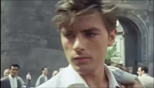 "Watch and share Alain Delon Dans ""Plein Soleil"" GIFs on Gfycat"