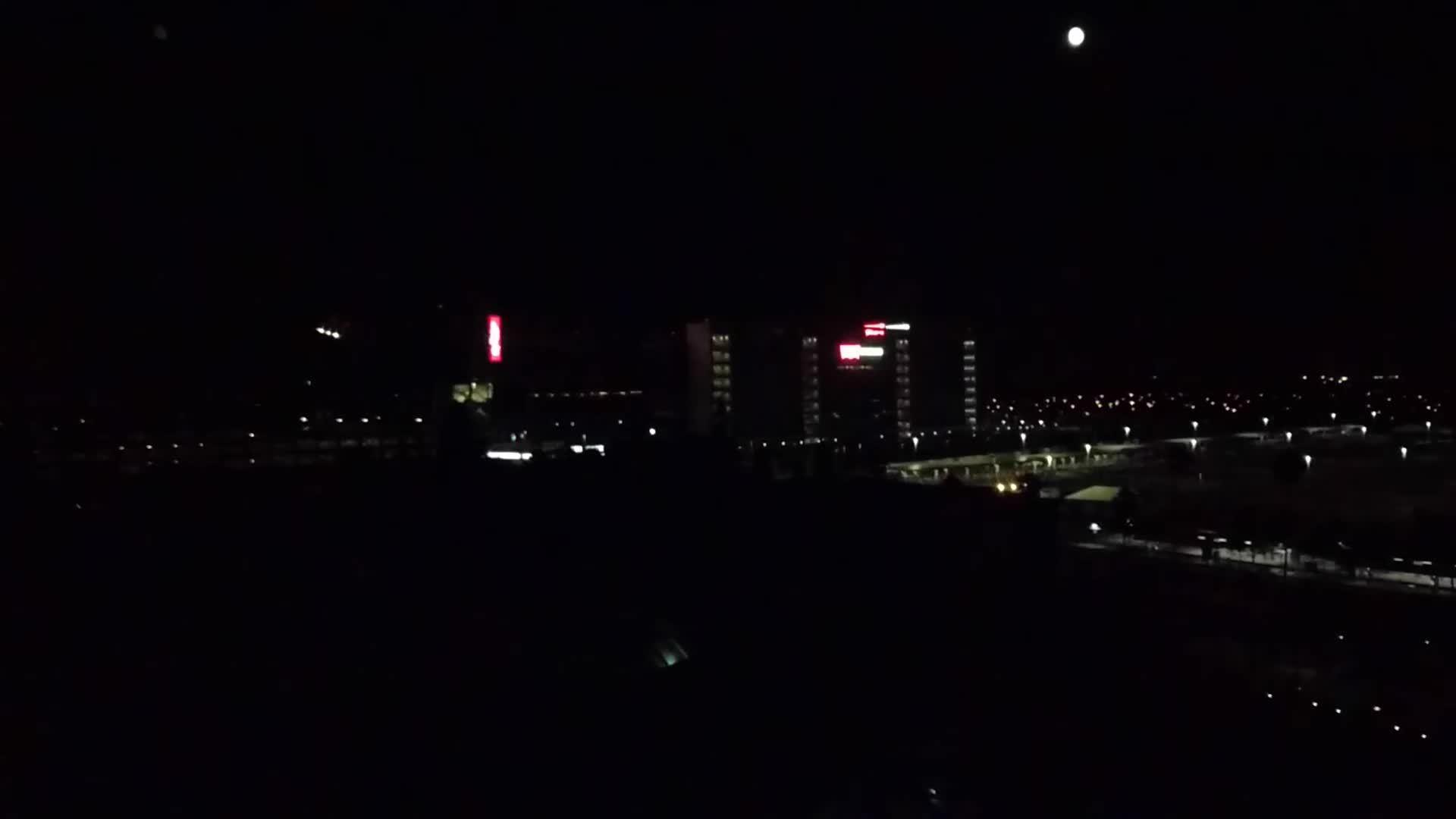 whatisthisthing, Blinking lights on Levi's Stadium (home of the 49ers) in Santa Clara (reddit) GIFs