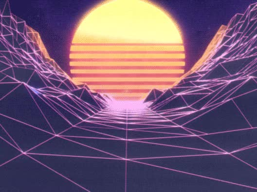 Watch Synthwave Sunset GIF on Gfycat. Discover more outrun GIFs on Gfycat