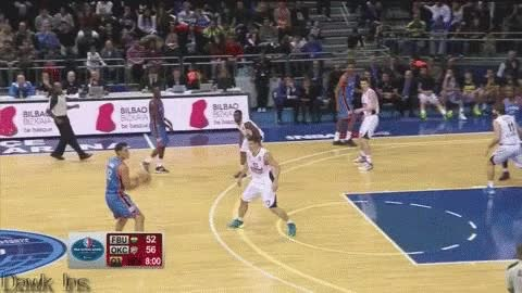 Watch and share Steven Adams Pick And Roll GIFs on Gfycat