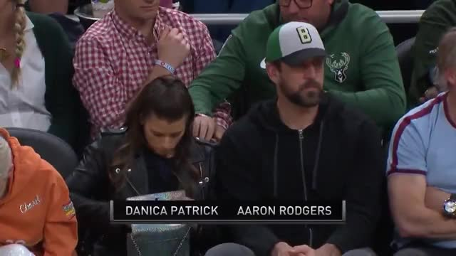 Watch and share Danica Patrick GIFs and Aaron Rodgers GIFs on Gfycat