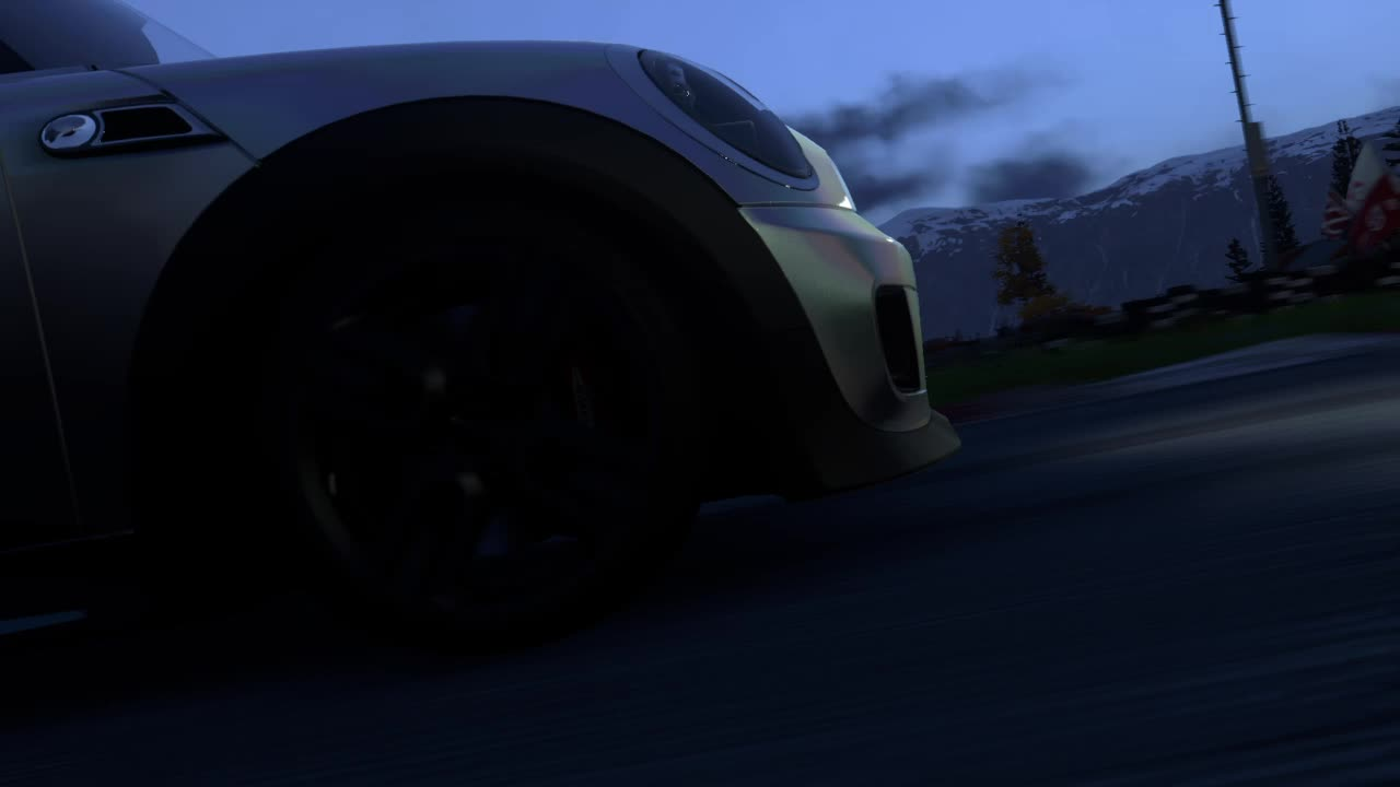 driveclub, mini, minigp, playstation, ps4, replay, simracing, thecomminity, DriveClub PS4 night race MINI GIFs