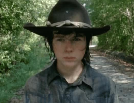 Watch and share The Walking Dead GIFs and Chandler Riggs GIFs by Reactions on Gfycat