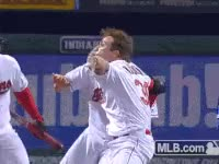 Watch and share Tyler, Naquin, Tylernaquin, Indians, Cleveland GIFs on Gfycat