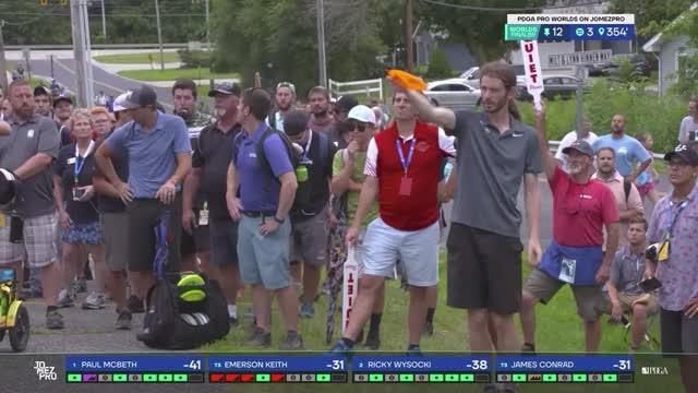 Watch and share 2019 Pro Worlds Round 5 Lake Eureka James Conrad Hole 12 Drive GIFs by Benn Wineka UWDG on Gfycat