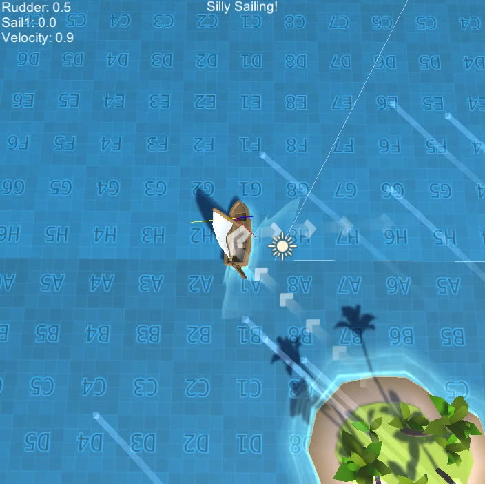 game, gamedev, sailing, unity, unity3d, Silly Sailing GIFs