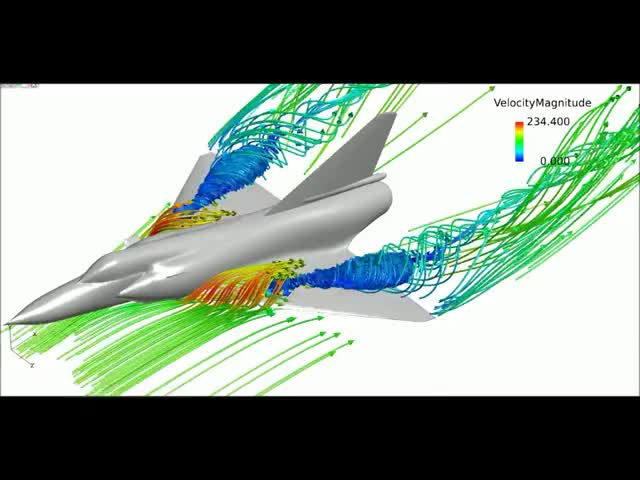 Watch and share Aeronautics GIFs and Cfd GIFs on Gfycat