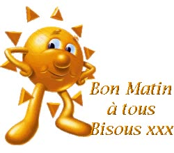 Watch and share Bon Matin A Tous Bisous-wm22019 animated stickers on Gfycat