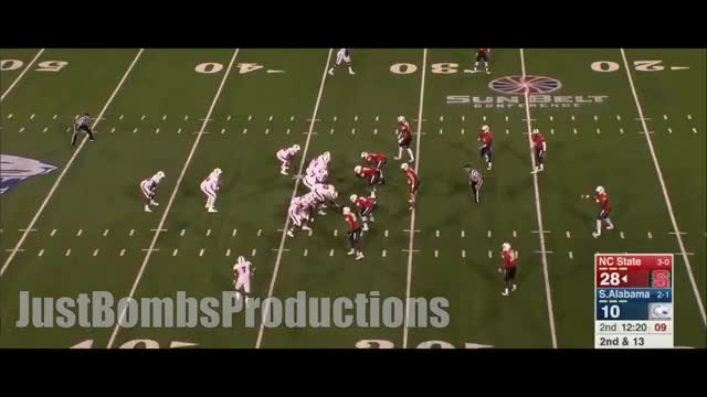 Watch College Football's Best Kept Hidden Secret || NC State TE/FB Jaylen Samuels 2015 Highlights ᴴᴰ GIF on Gfycat. Discover more jbp, justbombsproductions GIFs on Gfycat
