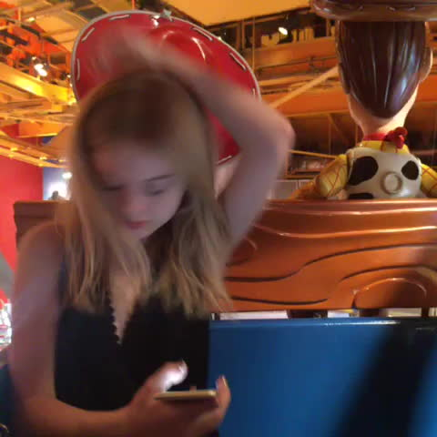 NatalieAlynLind, nataliealynlind, can't come to NY without stopping at Toys R Us ferris wheel😏 Emily GIFs