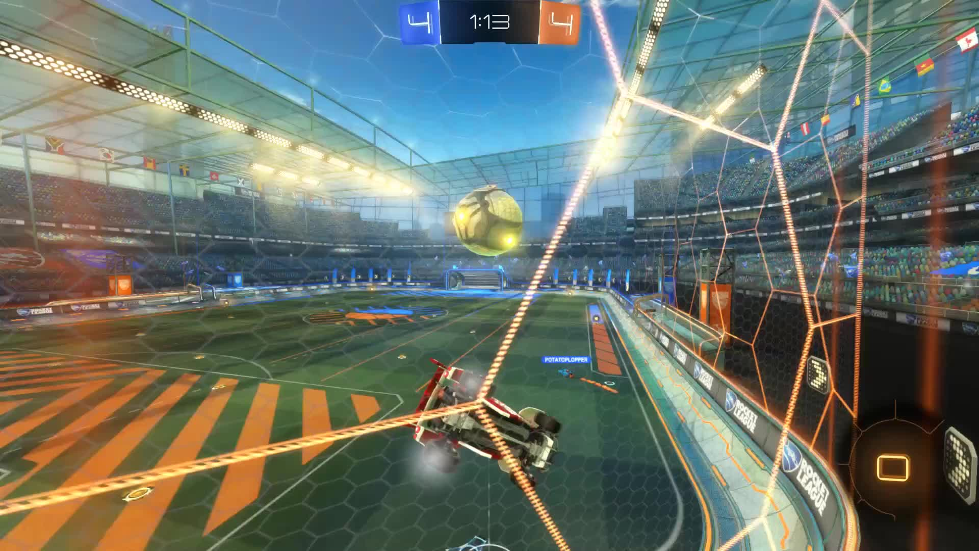 Gif Your Game, GifYourGame, Goal, Rocket League, RocketLeague, iLLixer, Goal 9: iLLixer GIFs