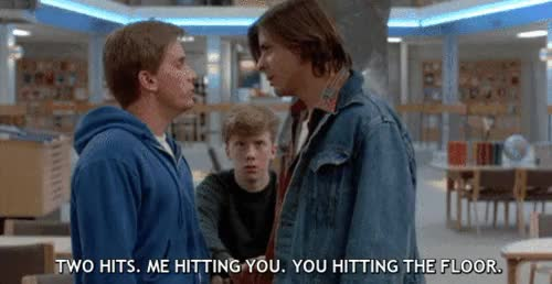 Watch and share The Breakfast Club GIFs and Emilio Estevez GIFs on Gfycat