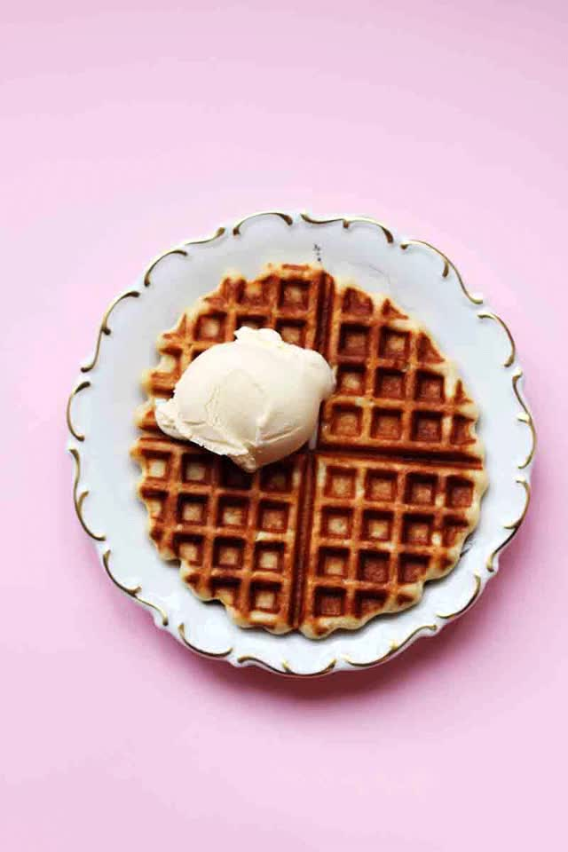 Watch and share Quick Belgian Waffles // The Sugar Hit GIFs on Gfycat