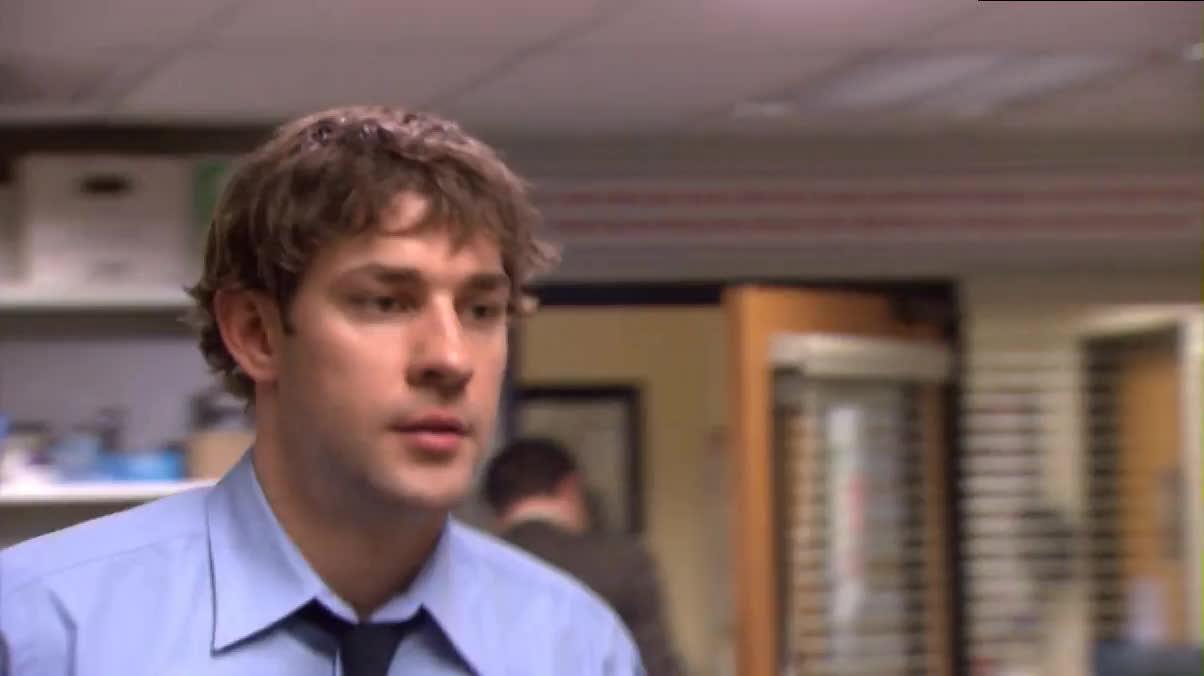 celebs, jenna fischer, john krasinski, Jim Halpert Shows His Girlfriend Swamplethics GIFs