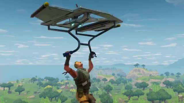 watch fortnite battle royale gameplay trailer play free now gif on gfycat - play fortnite battle royale on pc free now