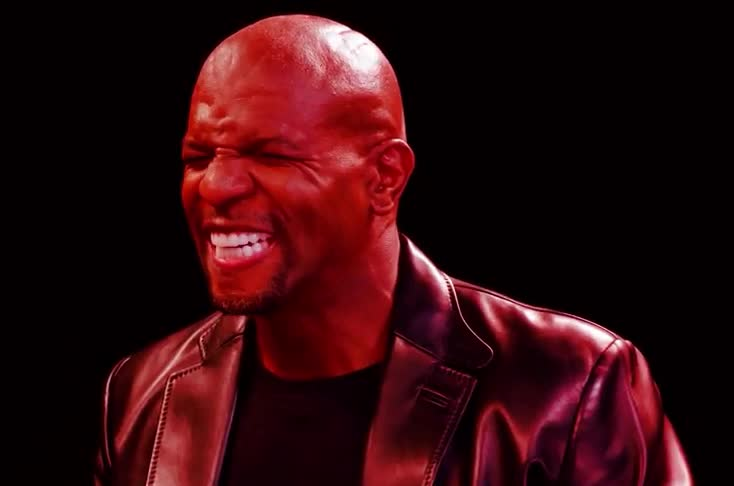 angry, cold, crews, funny, heat, hot, loud, mad, ones, scream, shout, spicy, temperature, terry, terry crews, wings, yell, Terry Crews Hallucinates While Eating Spicy Wings | Hot Ones GIFs