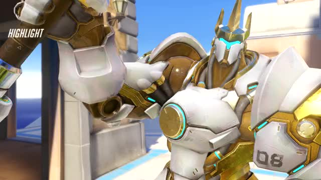 Watch and share Overwatch GIFs and Reinhardt GIFs by mroosa on Gfycat