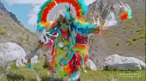 Watch and share Native American Dancer 4K 60fps GIFs by LimeLights  on Gfycat
