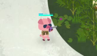 Watch Super Animal Royale - Super Tape GIF by Michael (@michael_one) on Gfycat. Discover more battle royale, cute animals, gaming, indie game, pc game, pig, video game GIFs on Gfycat