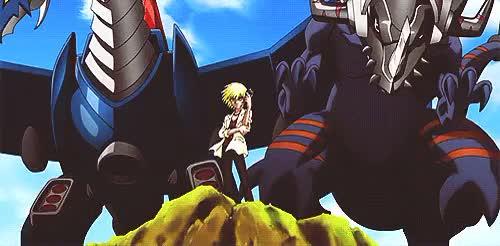 Watch and share Digimon Xros Wars GIFs and Aonuma Kiriha GIFs on Gfycat