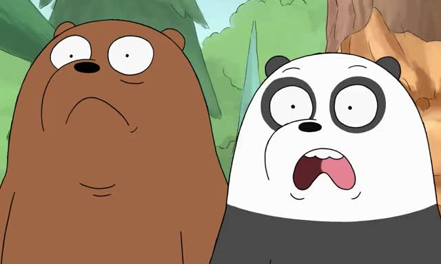 Watch this bear GIF by ioanna on Gfycat. Discover more awkward, bare, bears, cartoon, ew, fuck, funny, god, lol, my, network, oh, omg, shock, shocked, the, we, well, what, wtf GIFs on Gfycat