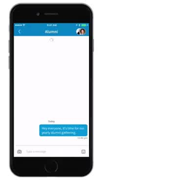 Watch and share Group Messaging On LinkedIn GIFs on Gfycat