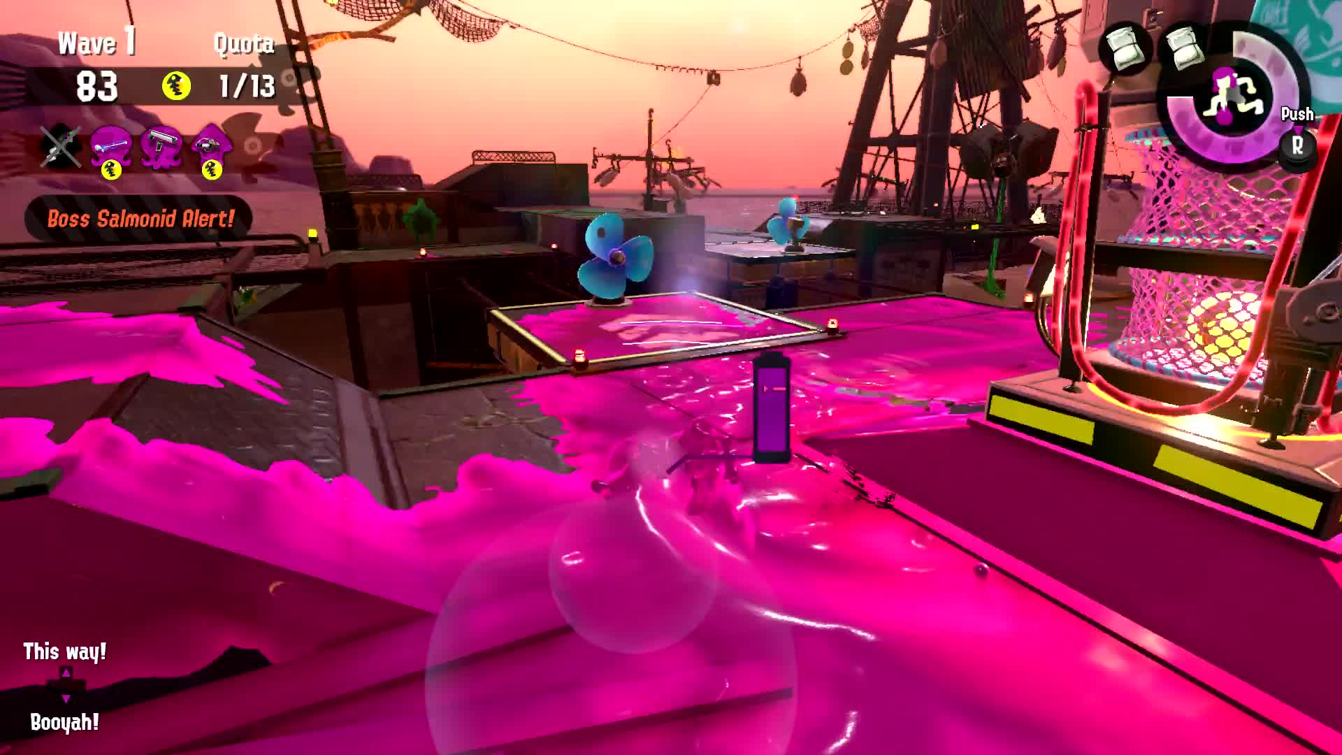 Splatoon 2, Flyfishing is a relaxing hobby GIFs